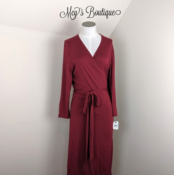 Rafaella Dresses & Skirts - ⭐Rafaella Maroon Dress⭐